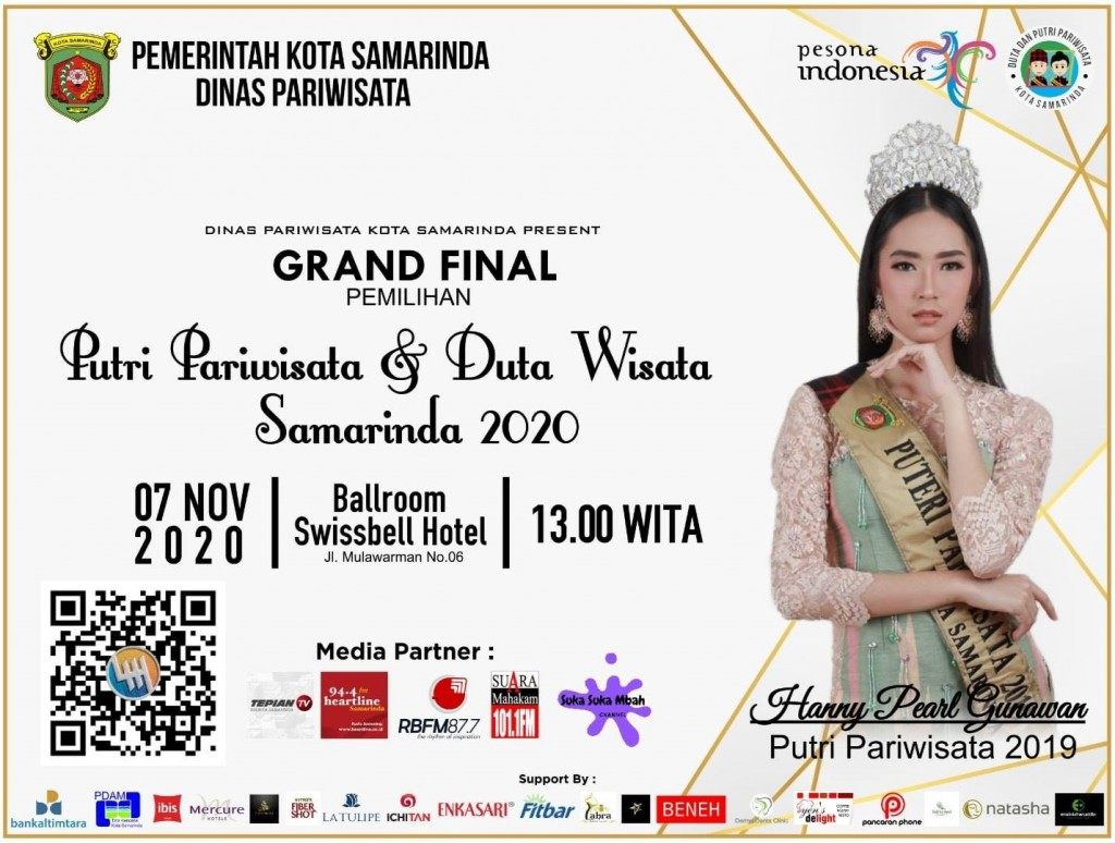 Grand Final Duta Wisata - Putri Pariwisata Samarinda