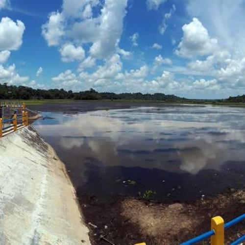 Waduk Benanga Makin Dangkal