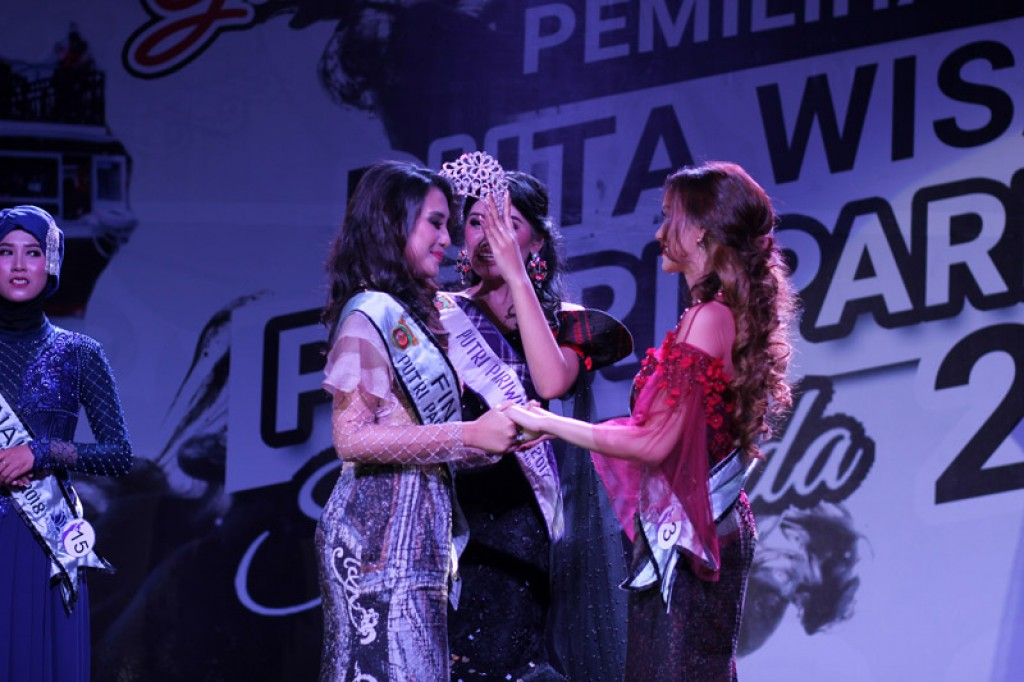 Malam Grand Final Duta Putri Pariwisata Samarinda 2018
