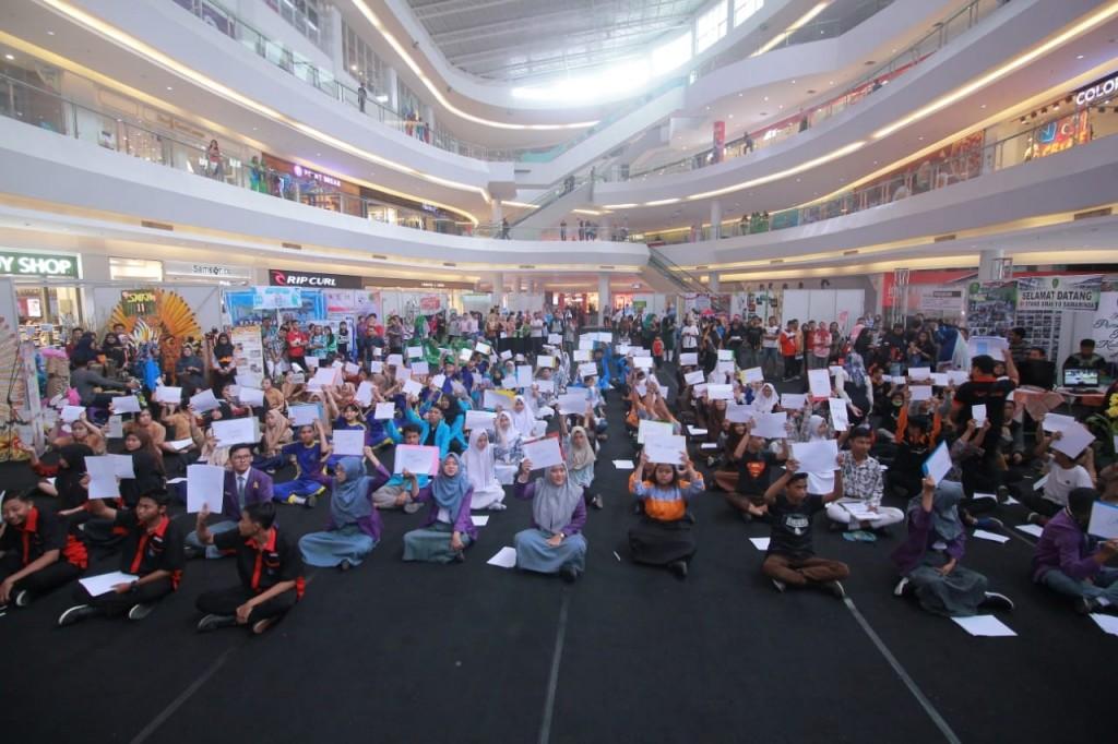Ratusan Pelajar Ramaikan Lomba Ranking 1 dalam HUT Kota Samarinda