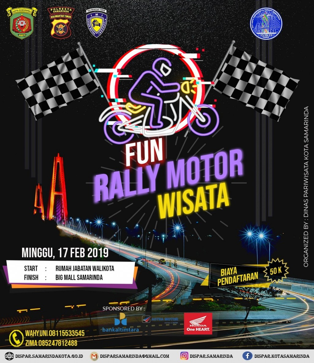 Fun Rally Motor Wisata Samarinda