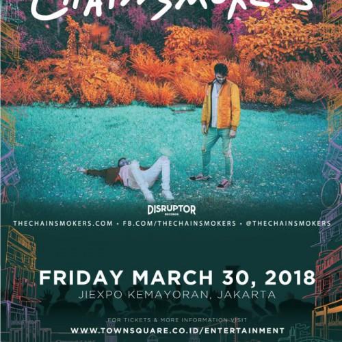 Konser Chainsmokers di Samarinda