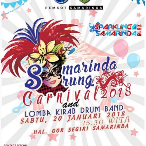 Samarinda Sarung Carnival & Lomba Kirab Drumband