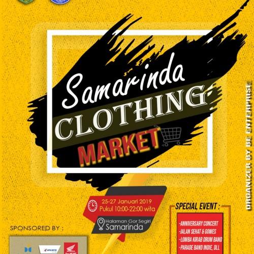 Samarinda Clothing Market